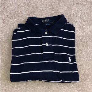Ralph Lauren Navy Short Sleeved Polo